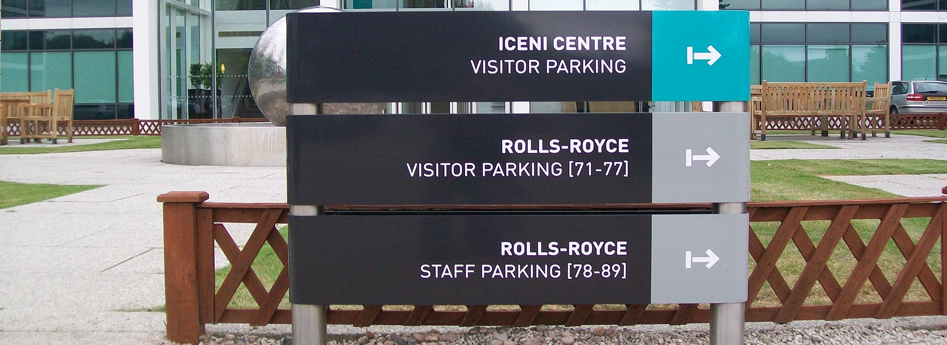 Directional signage