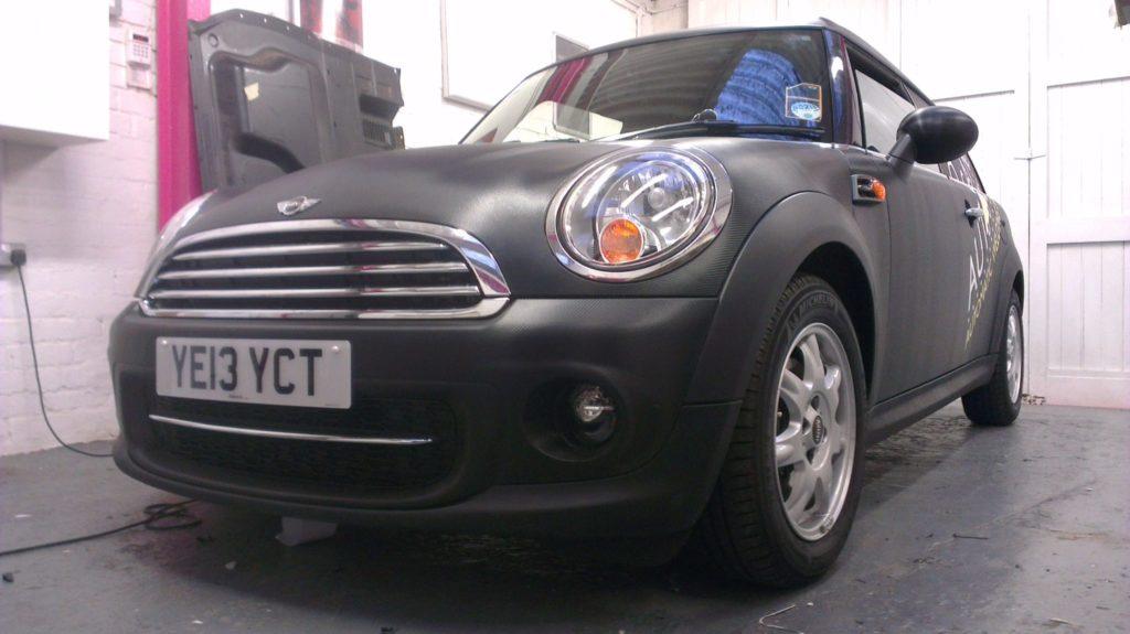 mini car wrap