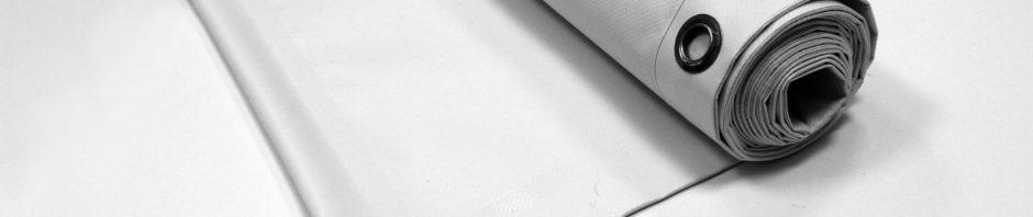 White PVC banner